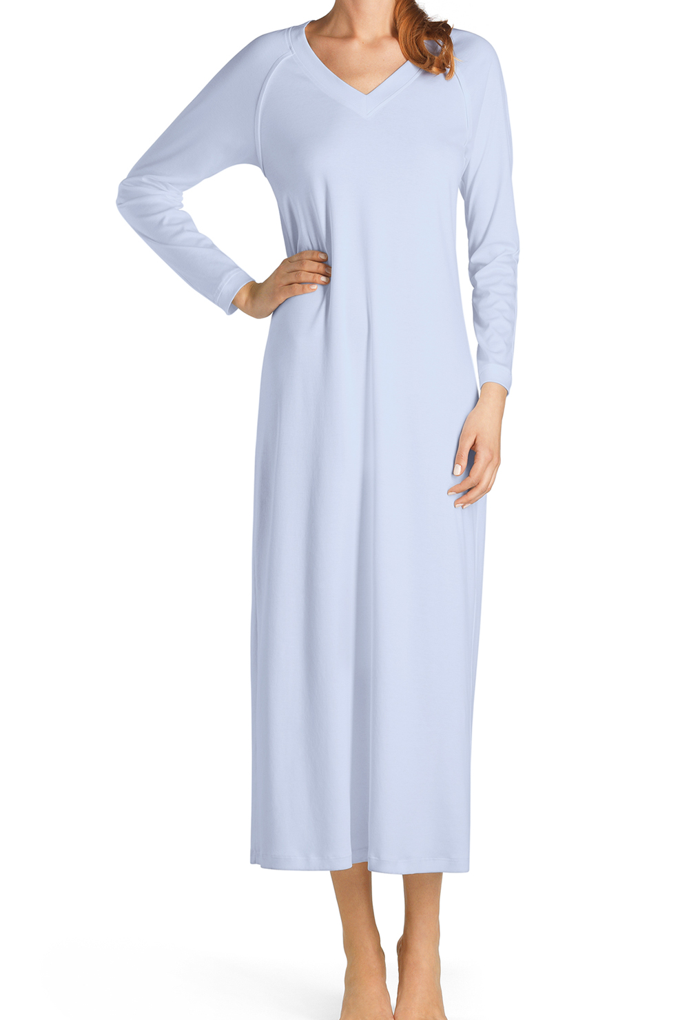 quality design 183a3 5ea41 Damen Nachthemd langarm